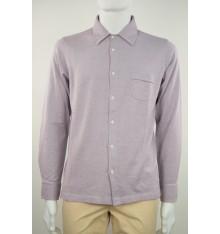 Maglia fatta a camicia  cotone