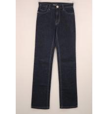 Jeans cinque tasche targa oro