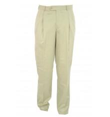 Pantaloni uomo due pinces cotone  estivi
