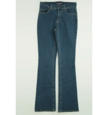 Jeans tre tasche avanti targa nera