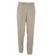 Pantaloni con una pinces beige primavera estate