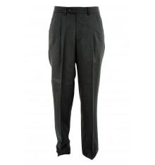 Pantaloni tinta unita con pinces quattro tasche