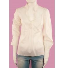 Camicia donna manica lunga collo coreana