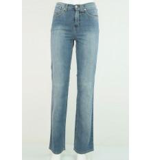 Jeans cinque tasche targa beige