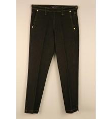 Jeans nero quattro tasche modello capri