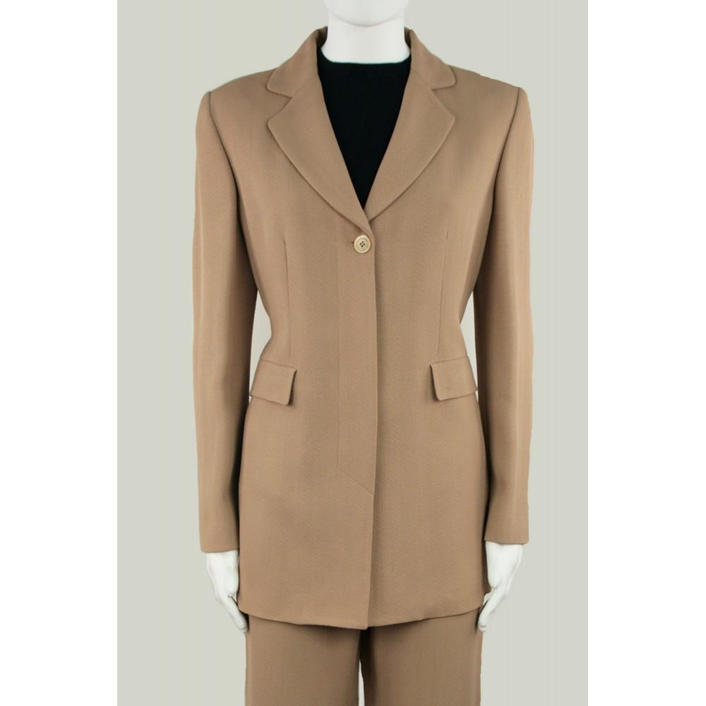 save off 25f1a d3c8b Completo donna con pantaloni beige scuro estivo