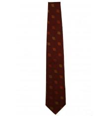 Cravatta seta classica foglie quattro colori