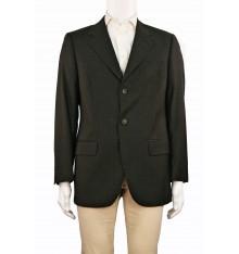 Giacca invernale classica lana vergine verde scuro