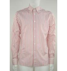 Camicia button down basico bianca e rossa