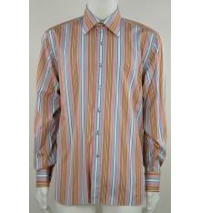 Camicia modello basico righe multicolore