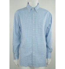 Camicia button down modello confort a quadri