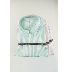 Camicia button down confort  con stemma