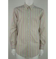 Camicia button down righe colori pastello