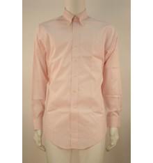 Camicia button down modello confort rosa
