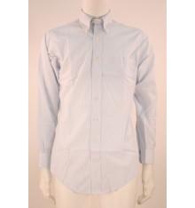 Camicia  modello confort righe sottili button down