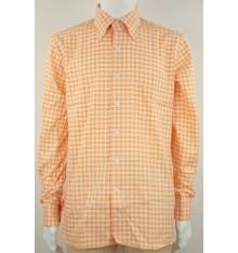 Camicia button down confort quadri e righe