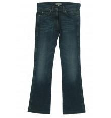 Jeans marca stampata tasca destra dietro cinque tasche
