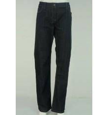 Jeans cinque tasche targa cuoio con marca