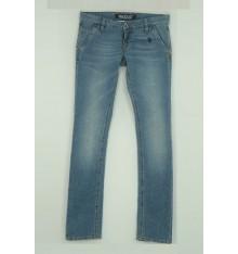 Jeans cinque tasche vita bassa